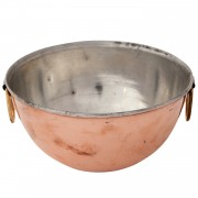 Copper Ice Bucket, d: 22.5 cm (8.9'')