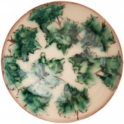 Traditional Leafs, Decorative Bowl for Coffee Table, d:15cm