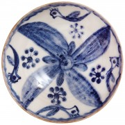 Bohemian Flower II, Decorative Ceramic Bowl, d:17.2cm (6.77'')