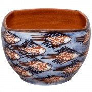 School of Fish, Decorative Table Bowl, Square & Tall