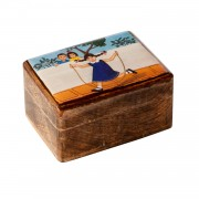 Anna plays, Decorative Wooden Box (S)