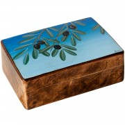 Olives, Decorative Wooden Box (B)