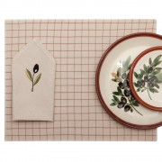 Dining Table Placemat & Table Napkin, Beige