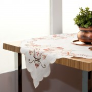 Embroidered Tablecloth, Iconic Greek Patterns