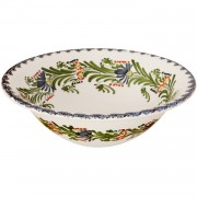 Flower Wreath, Large Serving Bowl, Colorful I, d:28cm