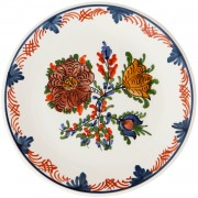 Blooming Flowers, Afternoon Tea Plate, d:17.5cm