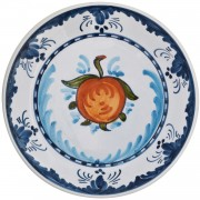 Fruit, Hand painted Plate, d: 17.5cm
