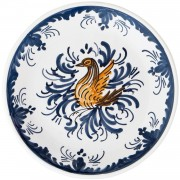 Swan, Decorative Plate, d:17.5cm