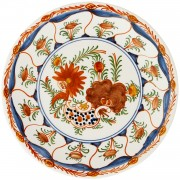 Blooming Flowers I, Decorative Plate, d:24cm