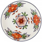 Blooming Flowers II, Decorative Plate, d:24cm