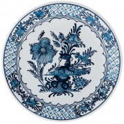 Garden Flowers, Blue and White China, d:24cm