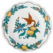 Exotic Bird, Canape Plate, d:21.5cm