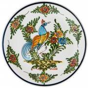 Peacock Ι, Decorative Display Plate, d:21.5cm