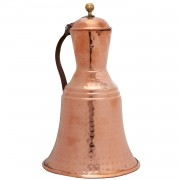 Hammered Copper Pitcher, Decorative, h.: 15cm