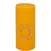 Beeswax Candle, h:20cm
