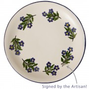Forget-Me-Not, Serving Plate, d: 25cm