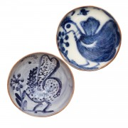 Aegean Birds, Small Decorative Bowls, S/2, d:11cm