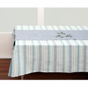 Teal Tablecloth & Table Runner