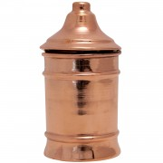 Copper Kitchen Accessory, Wall-hanging Canister