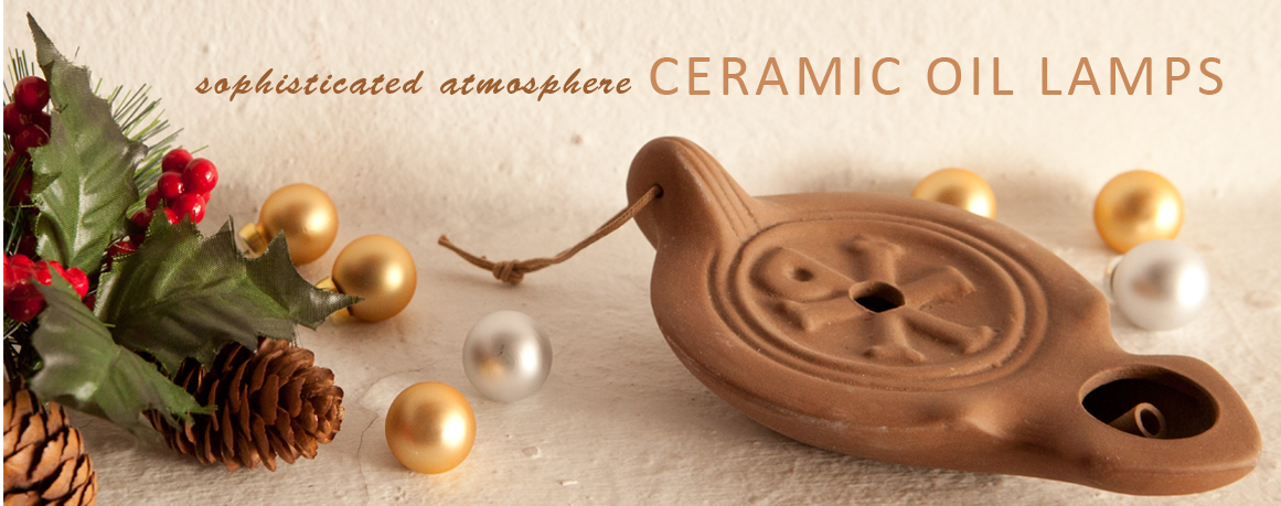Ancient-Ceramic-Oil-Lamps